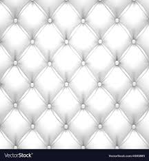 White Pattern Background Impressive White Upholstery Leather Pattern Background Vector Image