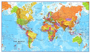 download maps about the world  major tourist attractions maps