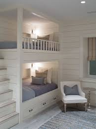 bunk bed room ideas. Unique Bunk Sophie Metz Design Built In Bunk Beds With Staircase Bedroom Kids Room  Home Decor And Interior Decorating Ideas For Bunk Bed Room Ideas