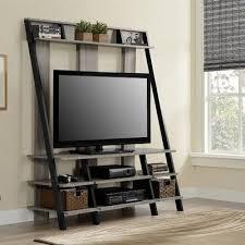 home entertainment furniture ideas. altra sonoma oak ladderstyle home entertainment center black furniture ideas t