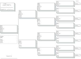 Pedigree Chart Template Free Blank Family Tree Template New Free