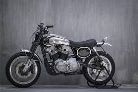 turning the harley 883 into a scrambler