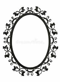 mirror frame drawing. Simple Drawing Download Antique Iron Mirror Frame Stock Photo Image Of Border  38830704 Inside Mirror Frame Drawing G