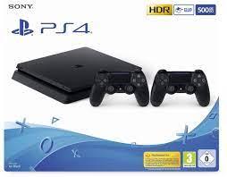 Sony PlayStation 4 (PS4) Slim 500GB + 2 Controller günstig kaufen