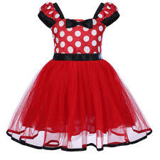 Minnie Mouse Black Dress Costumes For Girls Ebay