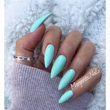 Mint Green By Margaritasnailz Nails Nehty