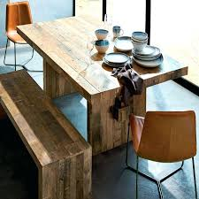 distressed pine dining table distressed wood dining table on excellent room intended for reclaimed pine west