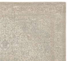 fahari printed rug swatch sage multi