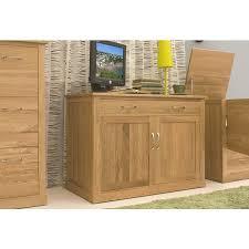baumhaus mobel solid oak hidden home office. mobel oak pc desk cor06a baumhaus solid hidden home office