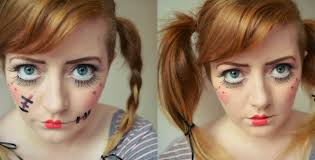i like the sch effect but you might prefer to go without so here s how they both look practise doing big doll eyes put your hair in