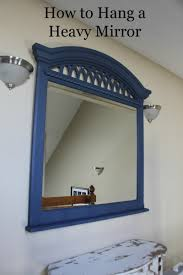 bathroom mirror mounting brackets. How To Hang A Heavy Mirror Mounting Brackets And Best Of Bathroom