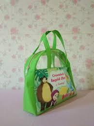 biasanya tas ultah anak digunakan sebagai wadah souvenir maupun jajan lebih ringkas nyaman dan bisa mengurangi pencemaran