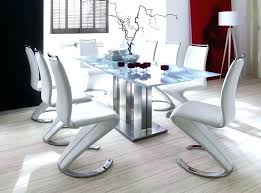 modern round white dining table with lazy susan all erfly leaf extension and chairs kitchen cool