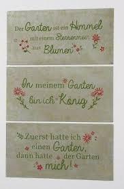 Metall Schild Zum Thema Garten 40x20cm Wandtafel Geschenk Sprüche