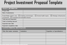 Get Project Investment Proposal Template Projectemplates
