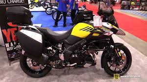 2018 suzuki 1000. delighful suzuki 2018 suzuki vstrom 1000 accessorized  walkaround 2017 toronto  motorcycle show and suzuki