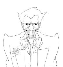 Small Picture Awesome Joker Coloring Page NetArt