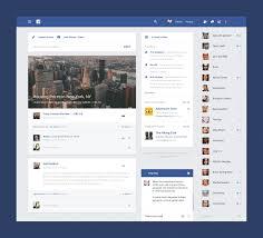 Facebook Interface Design Facebook Material Design Material Design Android Material