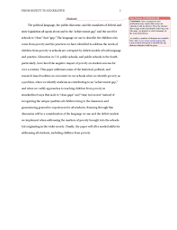 Apa 6 Sample Paper 10 Examples Of Apa Format Title Page Proposal Letter