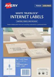 Avery 10 Per Page Labels Internet Shipping Labels 16 Avery Australia Labels 10 Per Page