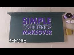 beyond paint simple countertop makeover 3 step process diy