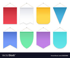 Triangle Banner Color Pennant Triangle Hanging Banners And Flags