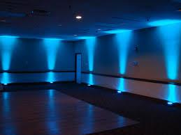 music in motion djs up lighting blue blue wedding uplighting