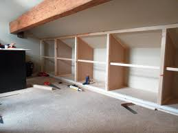 attic bedroom furniture. loft storage installation image 1 attic bedroom furniture e