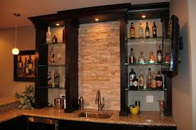 charming decoration wet bar glass shelving floating glass bar shelves with design 8
