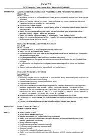 sample clinical nurse specialist resume nurse practitioner resume template ideal pediatric nurse