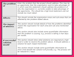 Problem Statement Templates - Free Download