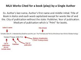 In Text Citations And Works Cited Ppt Download