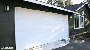 can you paint a garage door painting garage door tutorial 9 tips for refreshing garage door can you paint a garage door