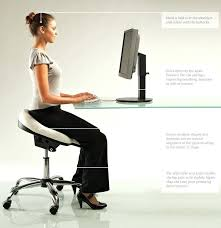 office chair posture