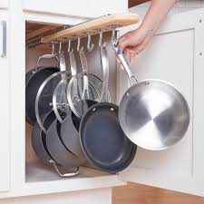 Kitchen Cabinet Storage Solutions Diy Pot And Pan Pullout