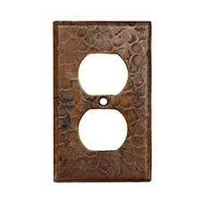 copper outlet covers. Delighful Outlet Premier Copper Products SO2 Switch Plate Single Duplex With Two Hole Outlet  Cover Oil And Covers Amazoncom