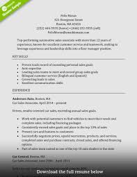 Sales Associate Resume Sample Retail Sales Associate Resume Example Best Of How To Write A Perfect 19