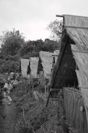 Iu Mien Huts Photograph by Ivan Franklin