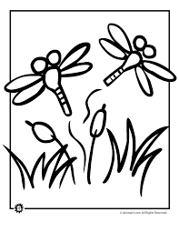 Small Picture Dragonfly Coloring Page Woo Jr Kids Activities