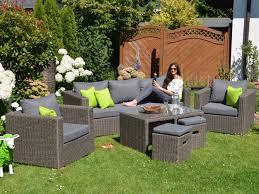 Runde Lounge Gartenmöbel