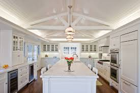 kitchen lighting for vaulted ceilings. Vaulted Ceiling Lighting. Vaulted-ceiling-lighting -kitchen -traditional-with- Kitchen Lighting For Ceilings