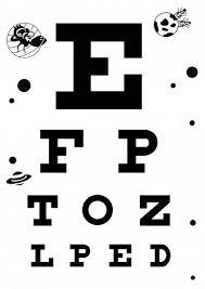 6 Download Eye Chart 6 Meter A4 Size 1 Eye Exam Chart Pdf