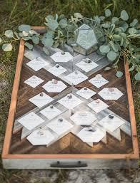 Hexagon Seating Chart Elegant Coastal Wedding Inspiration Wedding Details