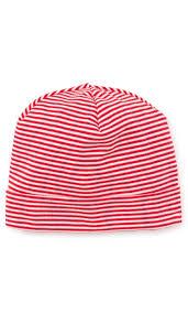 Red Kissy Kissy Essentials Stripe Hat