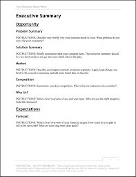 A Simple Business Plan Template Business Plan Template Updated For 2018 Free Download