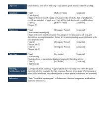 Chronological Resumeleles Samples Cv For Students Sample Pdf ...