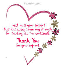 Thank You Note After Funeral To Coworkers Thank You Messages For Colleagues Appreciation Note