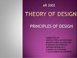 Theory Of Design Principles Designs Of Architecture