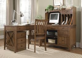 home office l shaped desk. Liberty Furniture Hearthstone L-Shaped Desk - Item Number: HO-111+111C Home Office L Shaped O