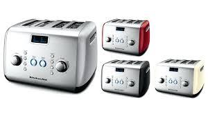 kitchenaid 4 slice toaster kmt422er empire red